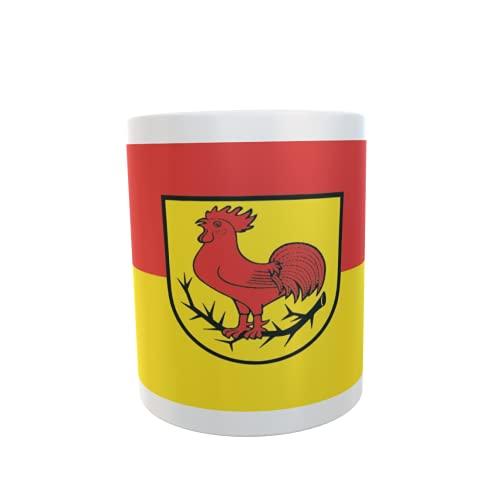 U24 Tasse Kaffeebecher Mug Cup Flagge Dornhan