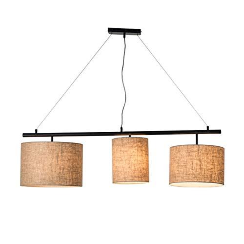 * Hanglamp, binnenverlichting, hanglamp, kroonluchter, plafondlamp, woonkamer, decoratie, eettafel, werkkamer, E27, modern, eenvoudig, ijzer, stof