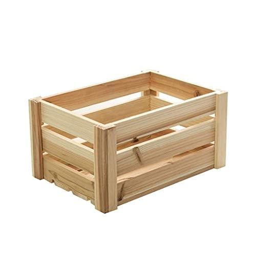 N/Z Muebles para el hogar Cajas de Almacenamiento de Madera de Vinilo Tienda Supermercado Almacén Estante de exhibición al por Menor Cesto Estante de exhibición LP (Color: A)