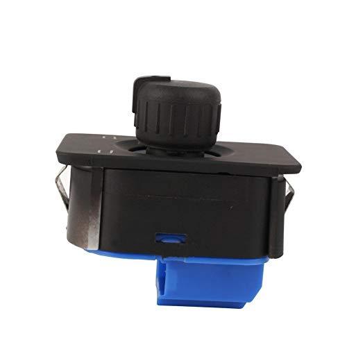 Rockyin Botón Retrovisor, 1PCS auto auto espejo retrovisor lateral del botón interruptor de control for Audi A6 C5