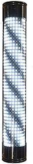 SAFGH Luz giratoria para peluquería al Aire Libre, luz LED para peluquería semicircular, Inteligente, Negra, Blanca, luz g...