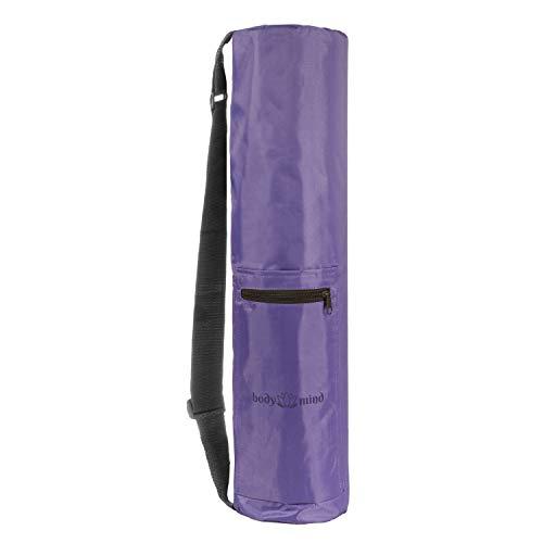 Body & Mind - Bolsa de yoga prémium para esterillas de yoga de hasta 190 x 65 cm, en 4 colores