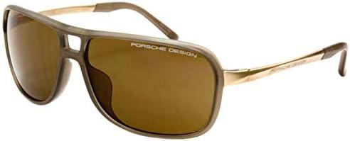 Porsche Design P8556 Men's/Ladies Fashion Sunglasses with Hard Case and Cloth size 64-14-140mm