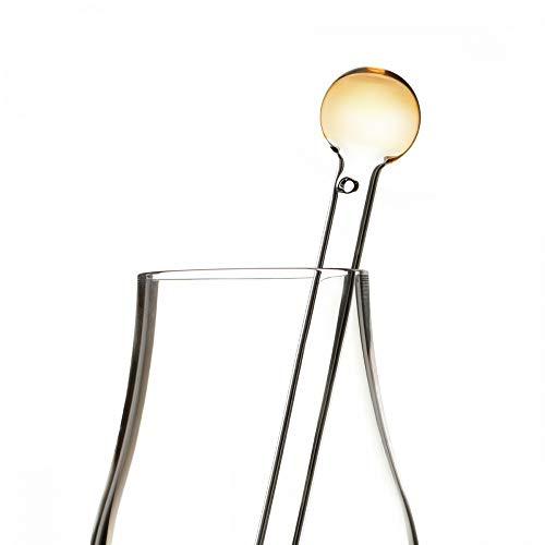 Eburya Whisky Wasser Pipette/Dropper aus Glas - Ball Top - Handgefertigt in Schottland