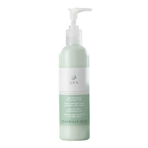 Jafra Spa Jafra Cosmetics - Crema de masaje corporal con jengibre y algas
