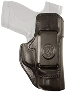 DeSantis Inside Heat Waistband Holster Ruger LC9, LC380 Leather Black