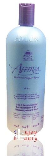 Avlon AFFIRM 5 In 1 Reconstructor For Damaged or Fine Limp Hair 32oz