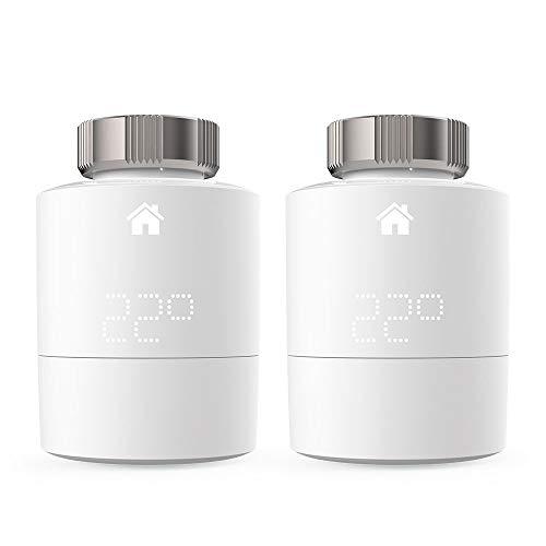 tado° Smartes Heizkörper-Thermostat - Duo Pack, Zusatzprodukte für Einzelraumsteuerung, Einfach selbst zu installieren, Designed in Germany