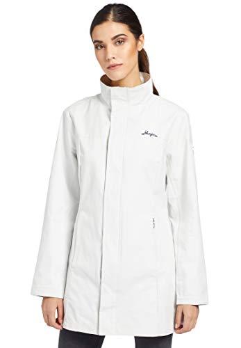 khujo Damen Jacke BOLKA taillierte Übergangsjacke mit Label-Details und Stehkragen