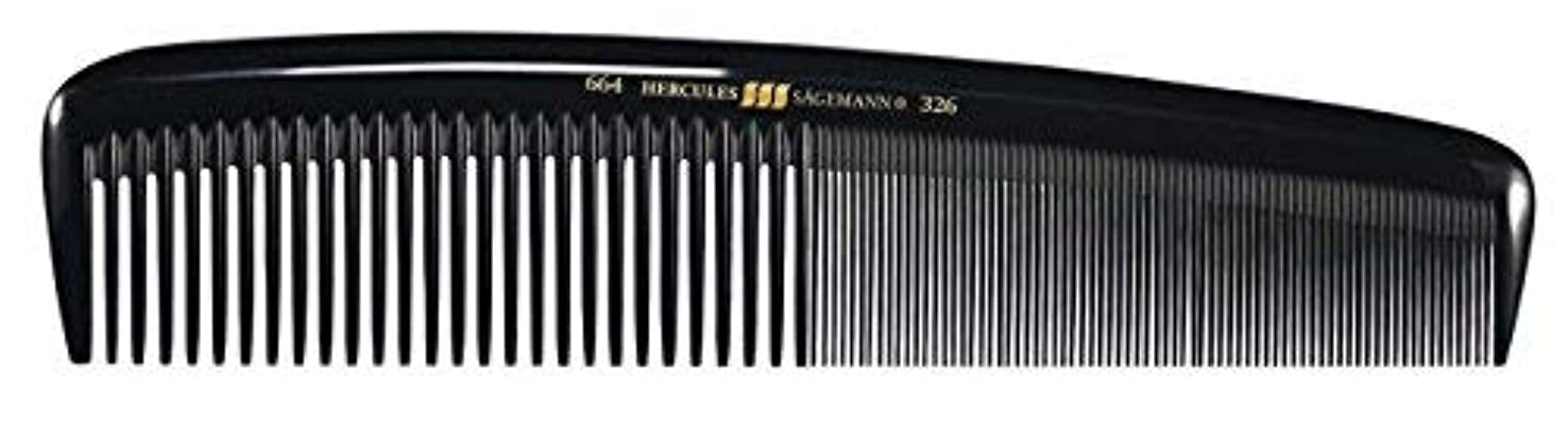 定期的な研究たらいHercules S?gemann Masterpiece Compact Styling Hair Comb with fine teeth 8