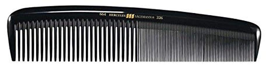 共役暗殺さびたHercules S?gemann Masterpiece Compact Styling Hair Comb with fine teeth 8