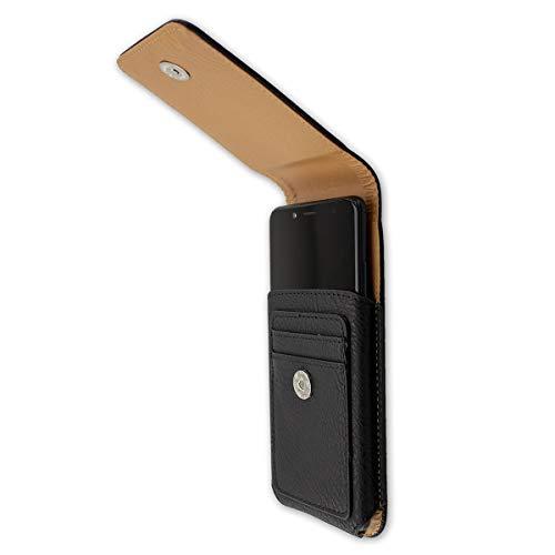 caseroxx Handy Tasche Outdoor Tasche für Yota Devices YotaPhone 3, mit drehbarem Gürtelclip in schwarz