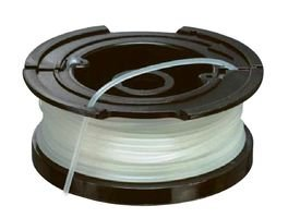 Black+Decker vollautomatische Einzelfadenspule (für Rasentrimmer 10 m Länge, 1,5 mm Fadendurchmesser) A6481