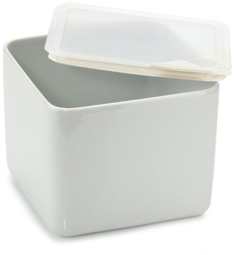 Arzberg Form 3330 Küchenfreunde Frischebox mit Kunsstoffdeckel 15 x 15cm hoch, transparent