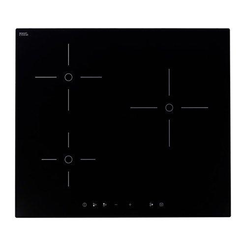 Ikea TREVLIG - Piano cottura a induzione, nero