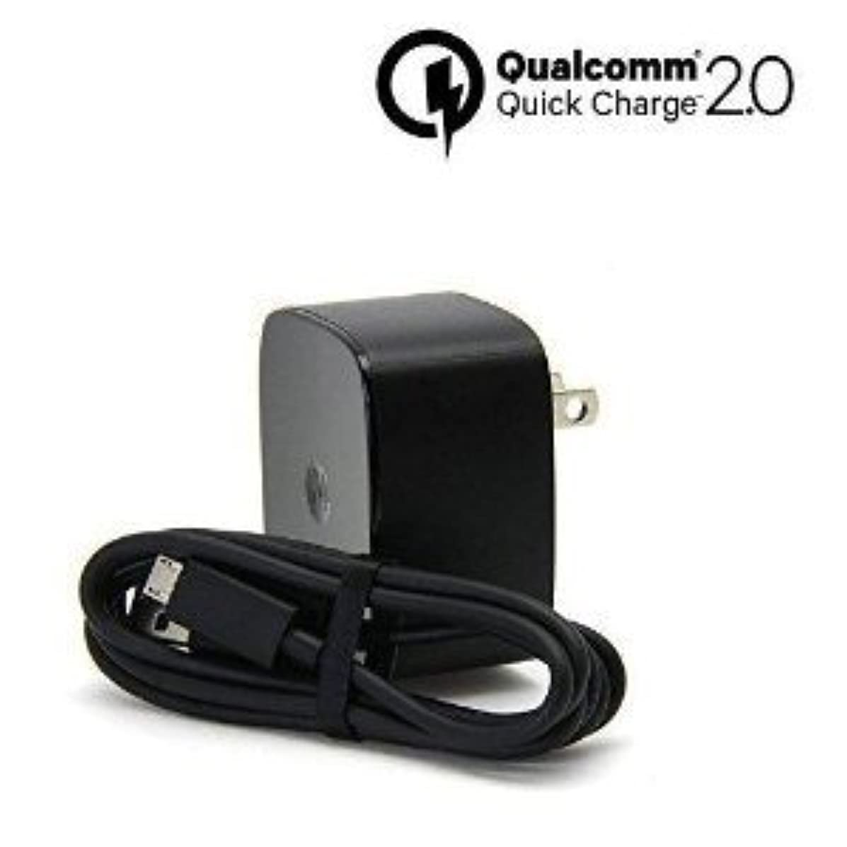 Turbo Fast Powered 15W Wall Charging Kit Works for Kyocera DuraXV LTE with Quick Charge 2.0 USB 1M (3.3ft) MicroUSB Cable!