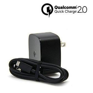 Turbo Fast Powered 15W Wall Charging Kit works for Huawei MediaPad T1 8.0 with QUICK CHARGE 2.0 USB 1M (3.3ft) MicroUSB Cable!