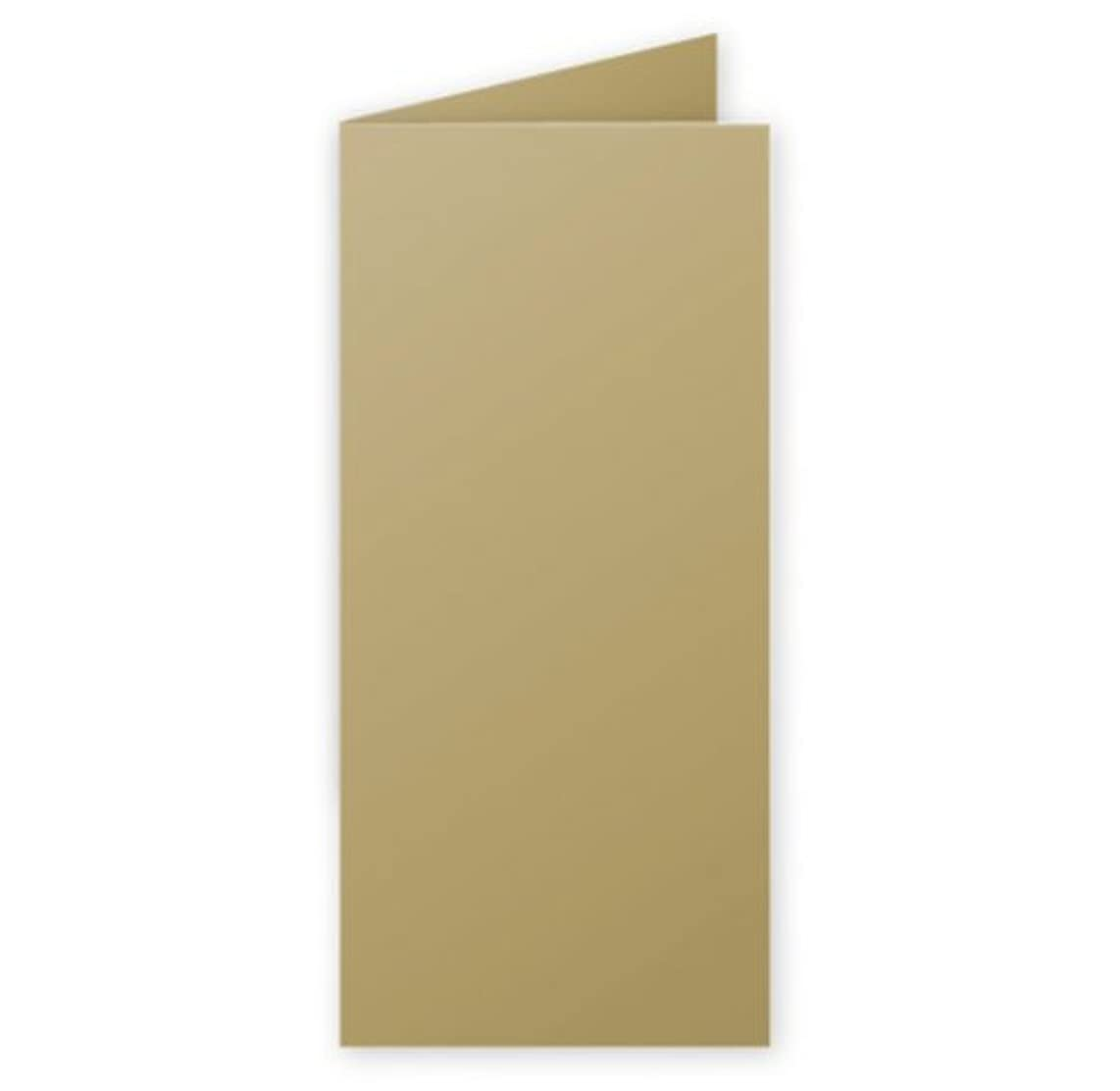 Clairefontaine 21506?°C Pollen Pack of 25?Cards Folded 10.6?x 21.3?cm 21.30 x 10.60 x 0.10 Gold