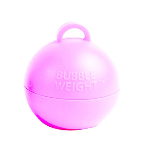 Creative Party- Poids pour Ballon à Bulles Layette, BW020, Rose bébé