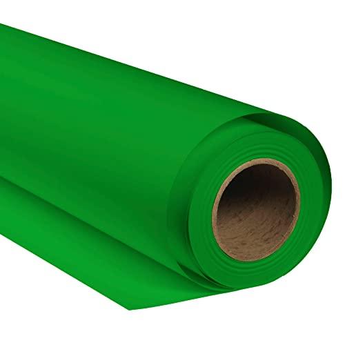 BRESSER SBP10 Papierhintergrundrolle 1,69 x 11m Chromakey Grün