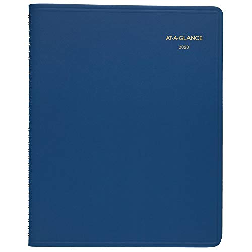 """AT-A-GLANCE 2020 Monthly Planner, 9"""" x 11"""", Large, Blue (7025020) (702502020)"""
