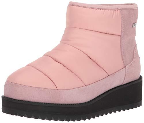 UGG Women's Ridge Mini Snow Boot, Pink Crystal, 11 M US