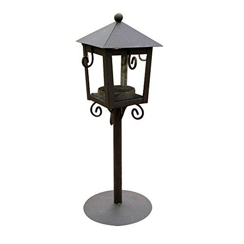 lightclub Romantic Candle Holder Stand Antique Vintage Style Lantern Wedding Decor Gift Black