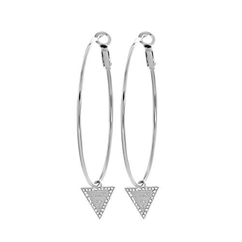 Guess - Guess Ohrringe, Edelstahl, Dreieck, 50 mm - für Damen - Stahl