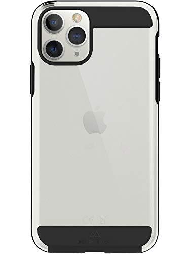 Black Rock - Handyhülle Air Robust Hülle Hülle Passend für Apple iPhone 11 Pro I Transparent, Durchsichtig Cover, Schutzhülle (Schwarz)