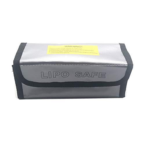 OUYBO Lipo batería portátil a prueba de fuego a prueba de explosiones Bolsa de seguridad contra incendios 185x75x60mm resistente for RC de la batería lipo Accesorios de batería de piezas RC