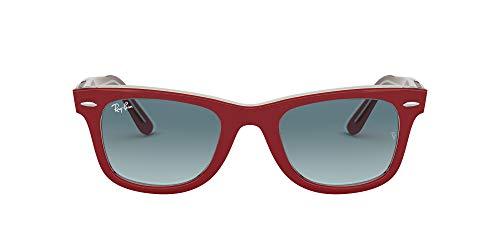 Ray-Ban Wayfarer Gafas de lectura, Rot, 50 Unisex Adulto