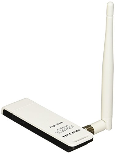TP-Link TL-WN722N 150Mbps 802.11n Wireless LAN USB 2.0 Adapter w/Quick Secure Setup Button & 4dBi Antenna