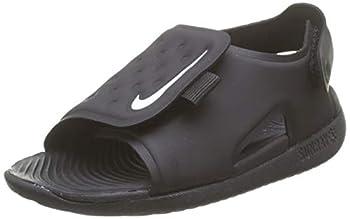 Nike Sunray Adjust 5 Kids Little Kids Sandal Aj9076-001 Size 1 Black/White
