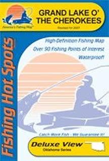 Grand Lake O' the Cherokees Fishing Map (Oklahoma Fishing Map Series, A346)