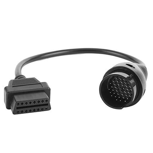 Adaptador de Cable de diagnóstico de Coche OBD2 Conector Macho de 38...