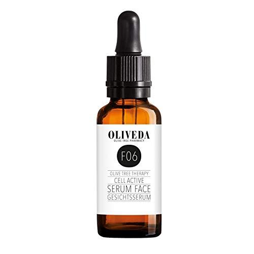 Oliveda F06 Gesichtsserum - Cell Active | natürliches Anti-Aging Lift Serum + Anti-Falten + feuchtigkeitspendend mit organischen Inhaltsstoffen - 30 ml