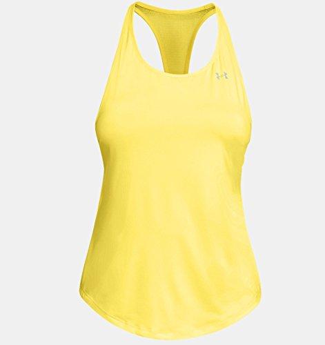 Camiseta sin Mangas, Mujer, Amarillo (159), S