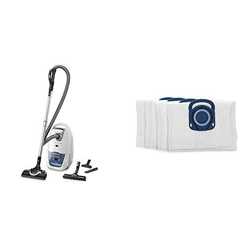 Rowenta Silence Force ParquetAspirateur avec Sac Silencieux Performant Capacité XL 4,5L Accessoires & Rowenta ZR200520 Sac Haute Filtration Hygiene + Optimal - Blanc - Boite de 4 unités