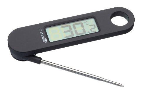 MASTER CLASS Thermomètre Digital, Mélange de Plusieurs matériaux, Noir,9 x 12 x 16 cm