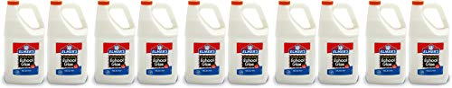 Elmer's Liquid School Glue, Washable, 1 Gallon, 2 Count - Great for Making Slime 5 Pack