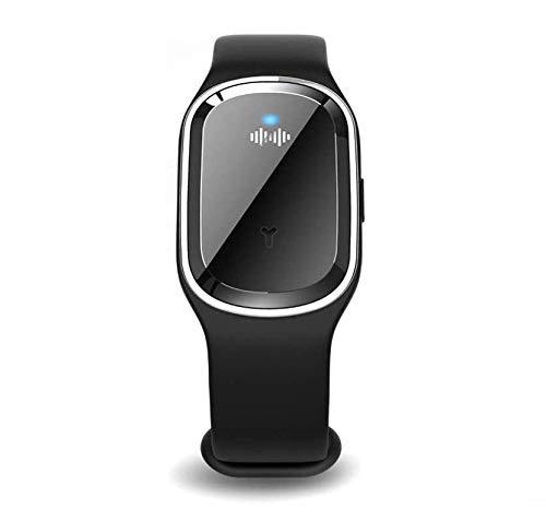 ZGHOME Bracelet Anti-Moustique Ultrasonique Bracelet Anti-Moustique Intelligent Bracelet Électronique Insecte De Contrôle (Black)