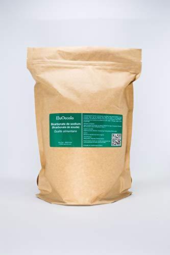 Bicarbonate de Soude DOYPACK 1,70kg zippé - Qualité alimentaire (doseur à l'intérieur) EluOecolo Made in France