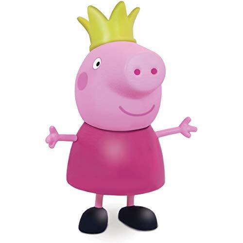 Boneco e Personagem Peppa Pig Princesa Vinil 15 Cm, Elka, Multicor