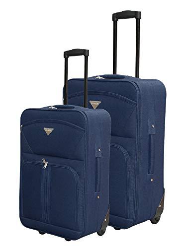 Privata - Trolley Soft Azul Marino - Cabina + Mediana