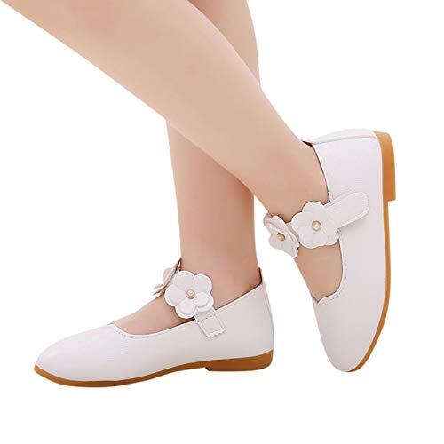 Goosuny Mädchen Prinzessin Bowknot Schuhe Kleinkind Anti-Rutsch Party Ballerinas Schuhe Weiche Leder Taufschuhe Sneaker Baby Lauflernschuhe