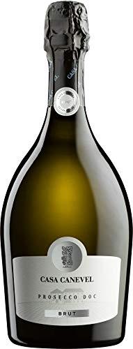 Casa Canevel brut Prosecco Schaumwein Italien DOC (6 Flaschen)