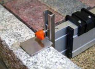rabo Höhenanschlag stufenlos verstellbar 04-11cm, Trapezgewindespindel, Ersatzteil/Zubehör für verstellbare Abziehschiene