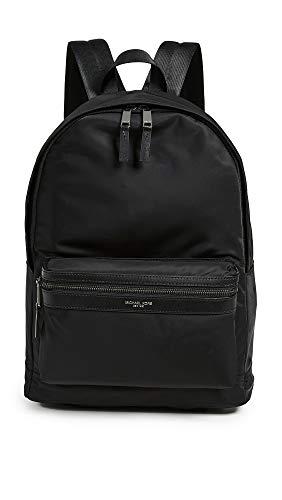 Michael Kors Men's Kent Nylon Backpack, Black, One Size