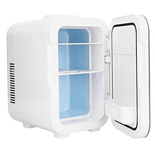8L Mini Refrigerador, Nevera TermoeléCtrica, Ruido Bajo Calentador Mini Cooler Refrigeradores Compactos Nevera Electrica Congelador para el Cuidado de la Piel Cuarto Oficina Dormitorio Viaje