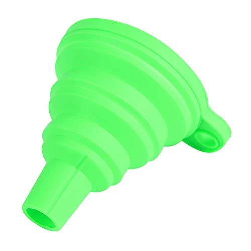 Hemobllo silicone foldable funnel resin transferring for dlp sla uv photocuring 3d printer part (green)